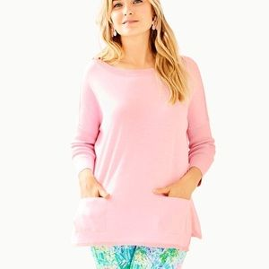 NWT LIly Pulitzer cobo boatneck sweater